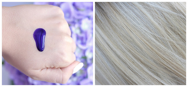 L'Oreal Professionnel Série Expert Silver Shampoo: Swatch and on hair