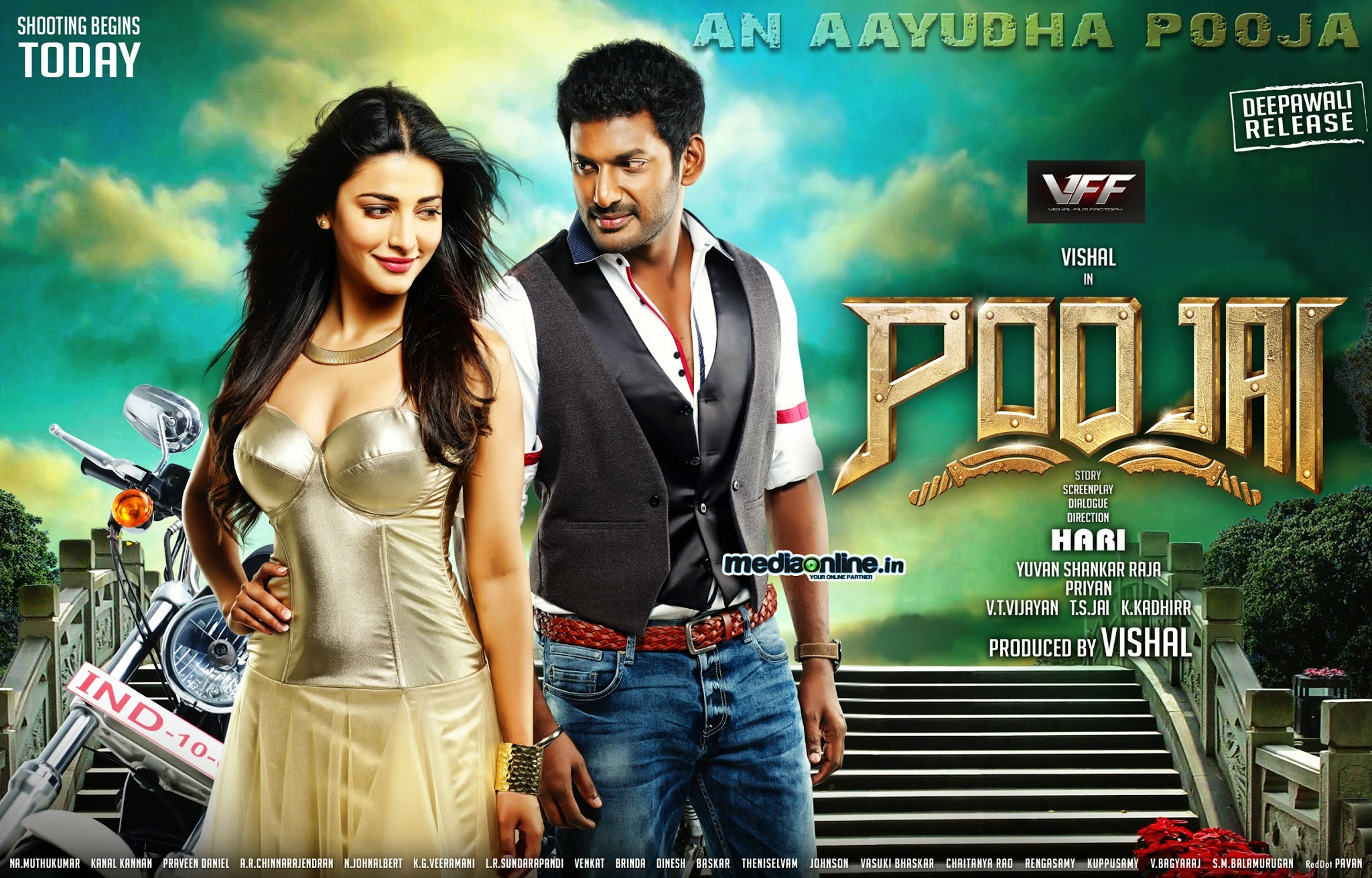 [Video Songs] Poojai 2014 Watch Tamil Video Songs Online