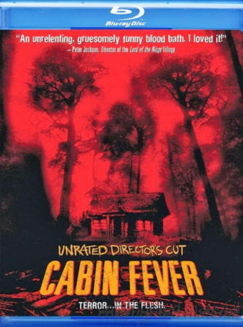 Cabin Fever 2002 Unrated Hindi Dubbed Dual 480p BRRip 300mb