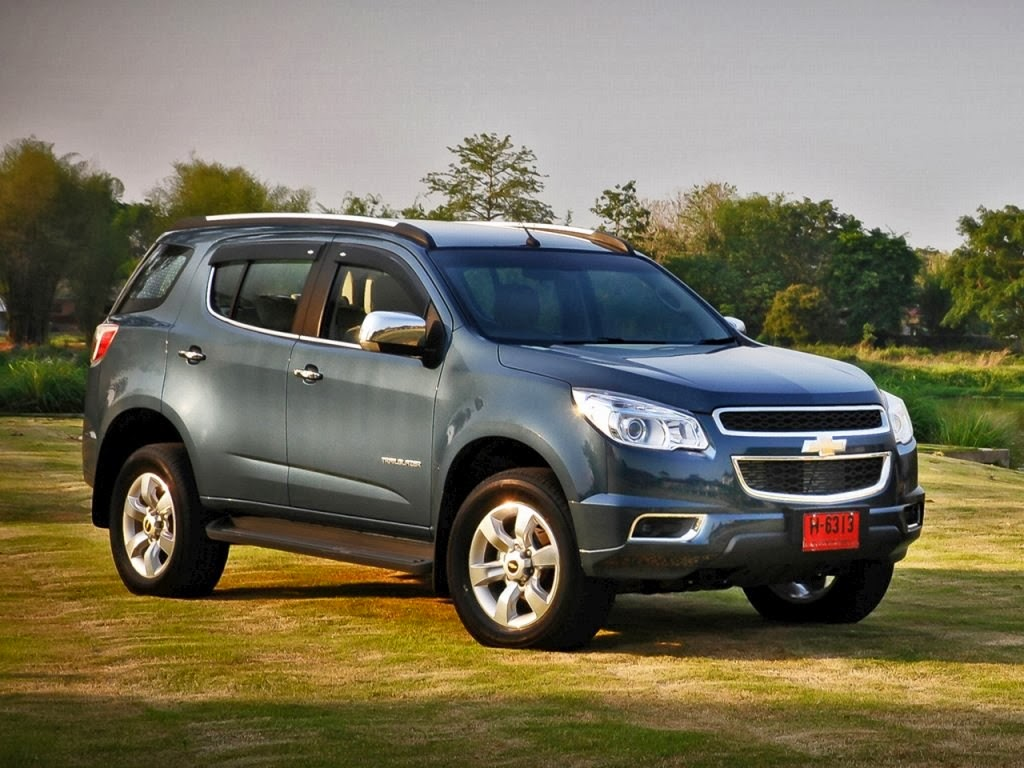 chevrolet trailblazer 2014 обои