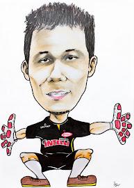 Caricatura no vestiário da ADC Intelli 2012