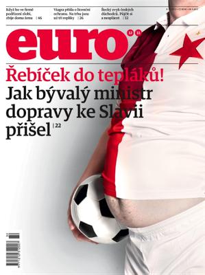obálka časopisu Euro