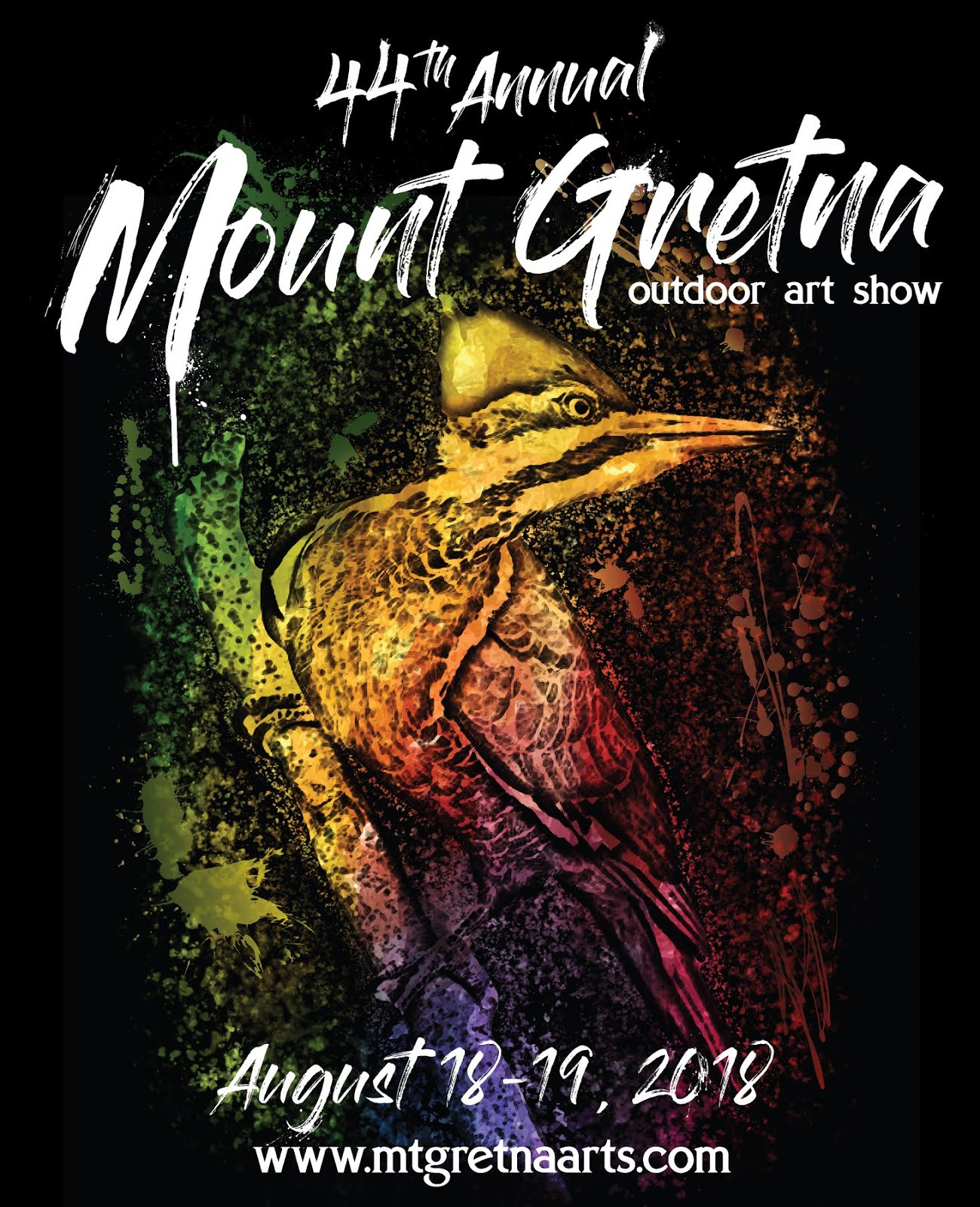 EXHIBITING ARTIST AT MT. GRETNA OUTDOOR ART SHOW 2018