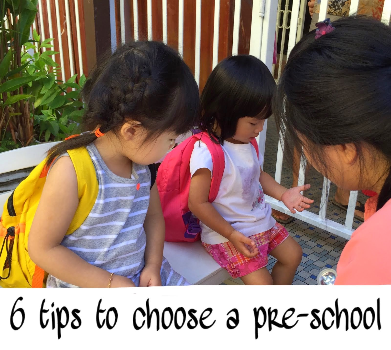 How to choose the right Pre-school