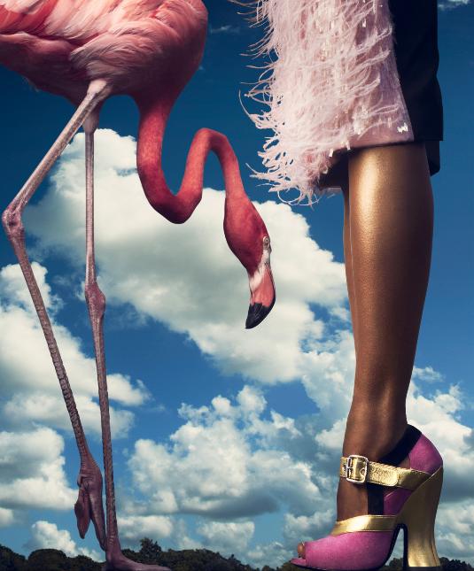 http://afrolistasandthecity.blogspot.com/2013/10/in-pink-melodie-monrose-harpers-bazaar.html