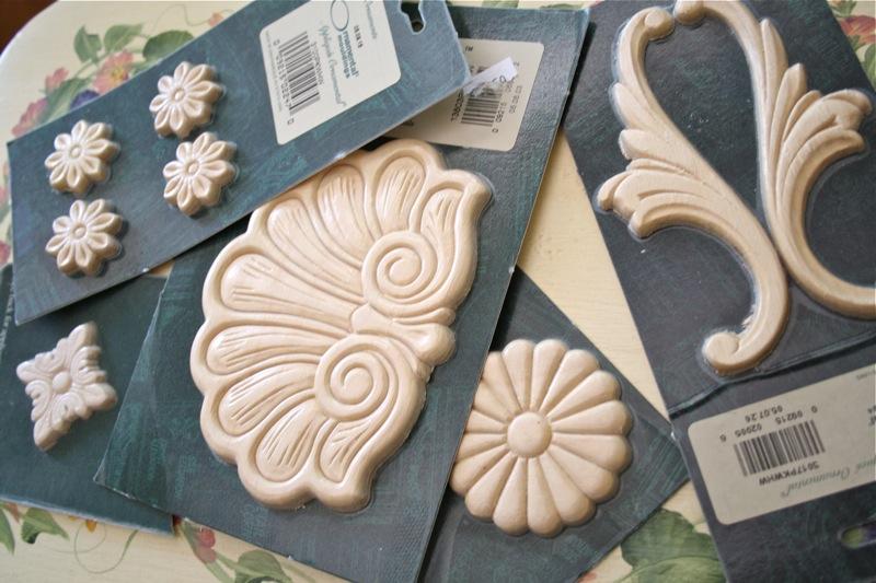 The Polka Dot Closet How To Make Ornamental Plaster