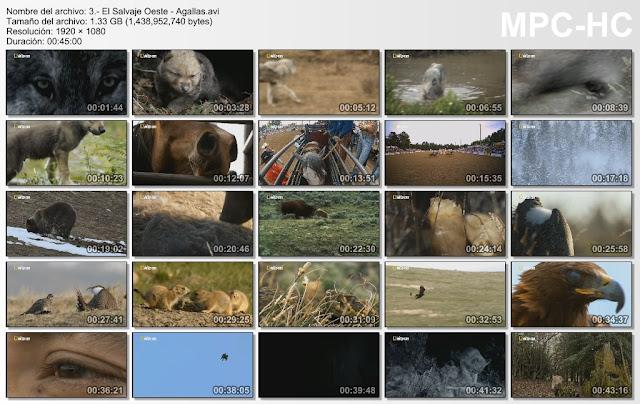 |NATGEO HD|4GB|Salvaje Oeste|3/3|FullHD 1080p|MEGA