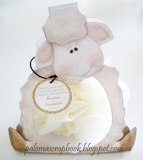 Lembrancinha tema ovelha