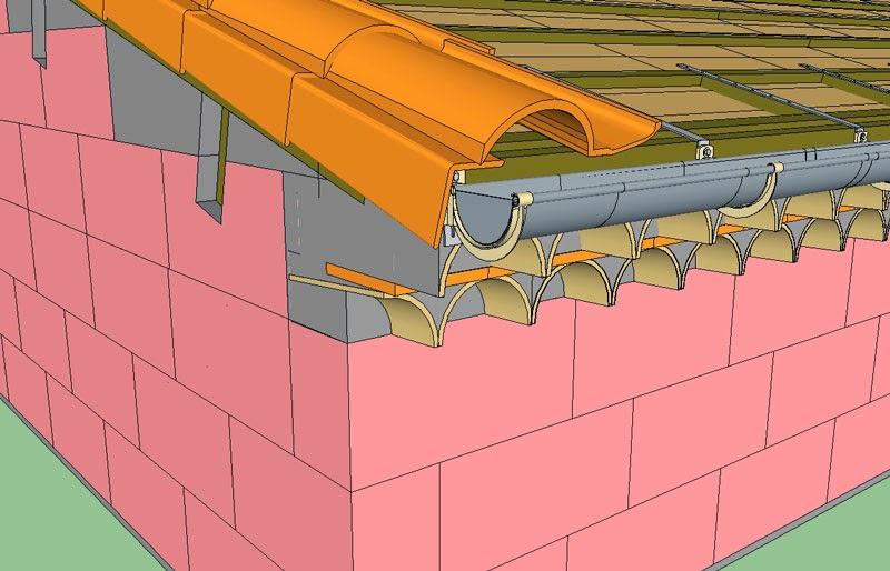 projet de construction d 39 une toiture traditionnelle r gion provence b tir sa maison moindre co t. Black Bedroom Furniture Sets. Home Design Ideas