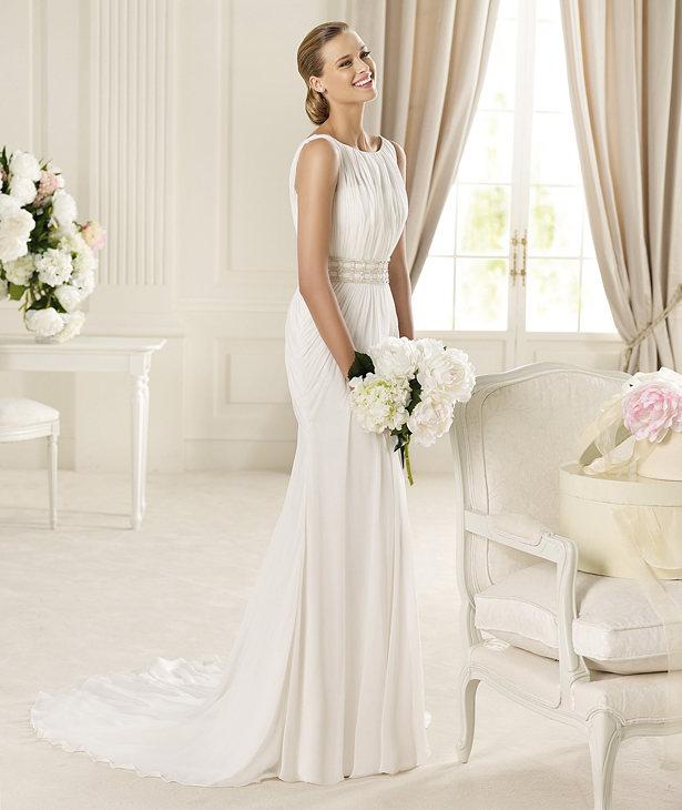 Grecian Style Wedding Dresses 2012