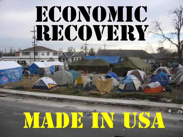 You say you want a revolution? American-tent-city