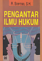 ajibayustore  Judul    :    PENGANTAR ILMU HUKUM  Pengarang    :    R. Soeroso, S.H.  Penerbit    :    Bumi Aksara