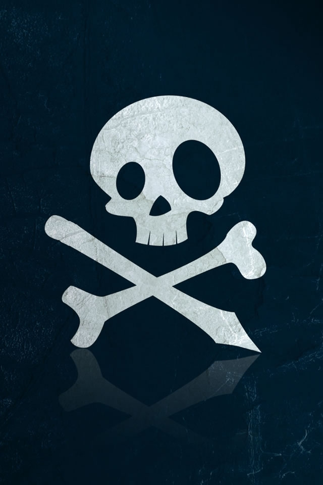 Cool iPhone Wallpapers: Skull