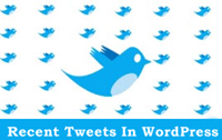 Recent Tweets In WordPress With Official Twitter Widgets