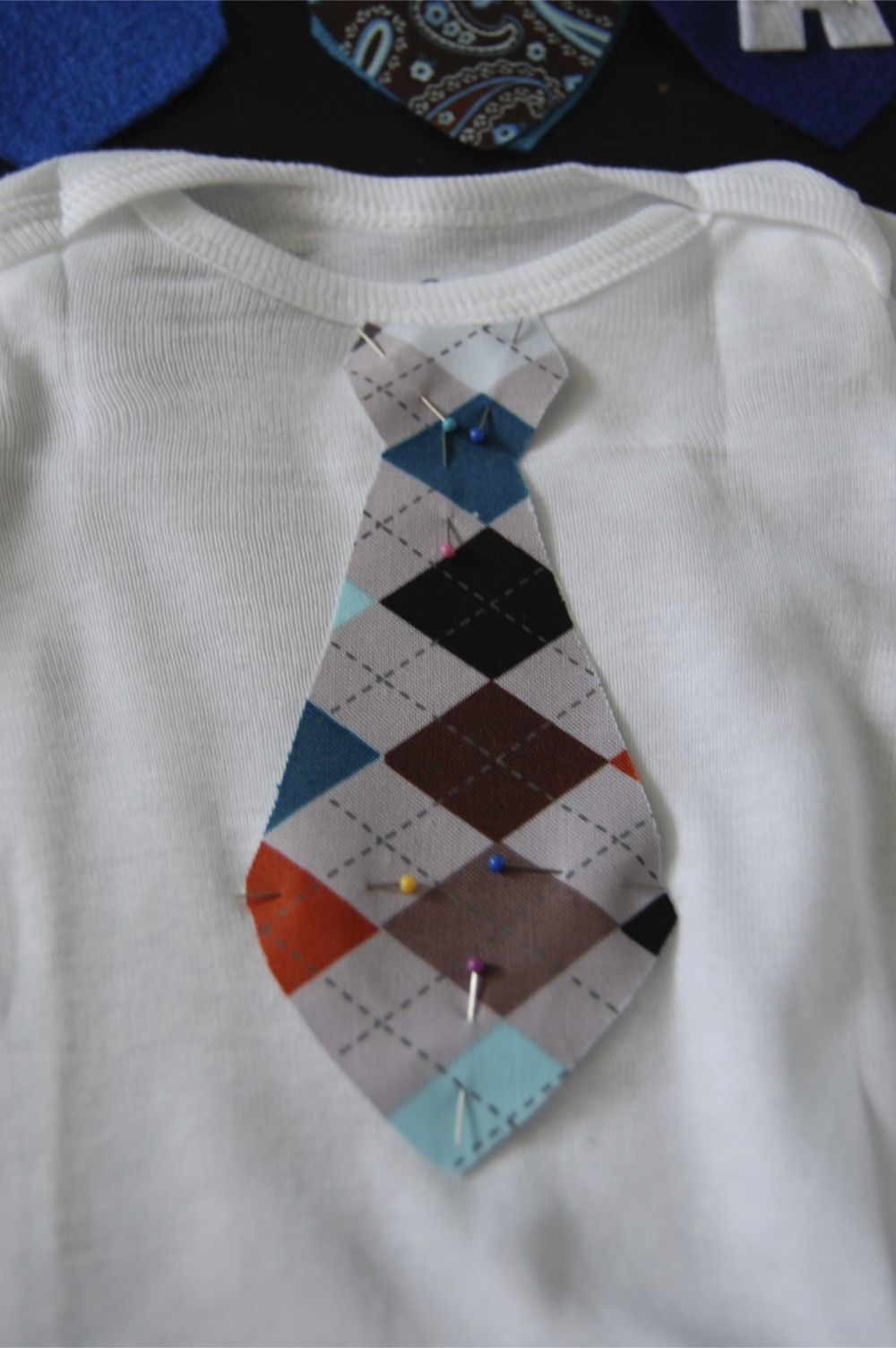 Get Your Stitch On Baby Boy Sewing Little Man Tie