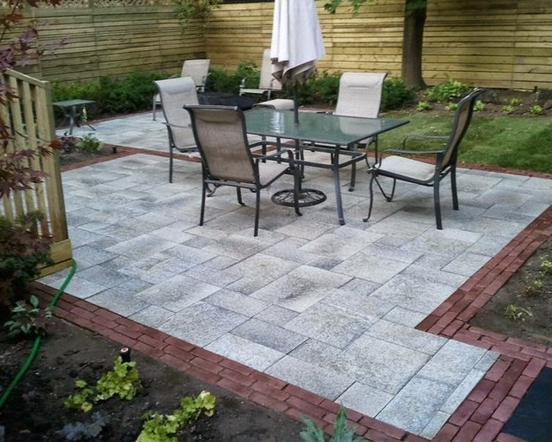 A Basic Stone Patio