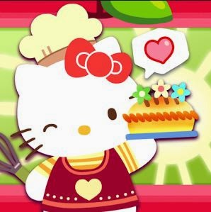 Gambar Hello Kitty Memasak Lucu Hello Kitty Cooking Games Fun