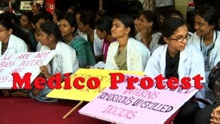 Chennai Medical Students Protest