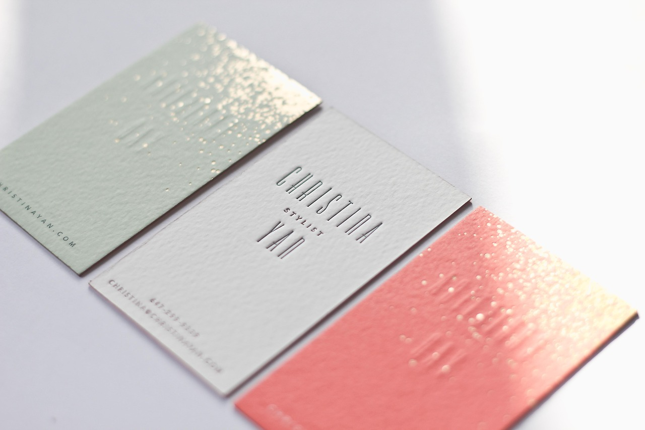 Good design makes me happy: Project Love: Christina Yan Business Cards
