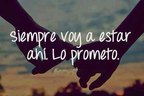 contigo siempre lo prometo