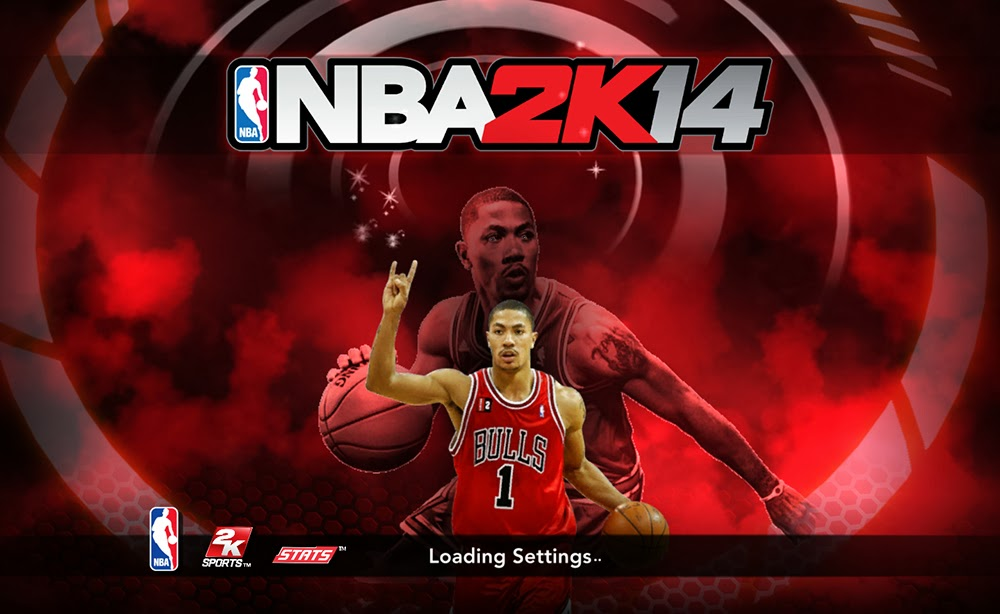 NBA 2K14 Derrick Rose Title Screen Mod Nba2k14-derrick-rose-cover-athlete-titlescreen