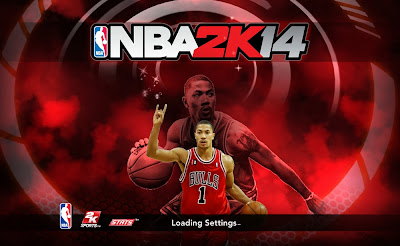 NBA 2K14 Derrick Rose Titlescreen Mod