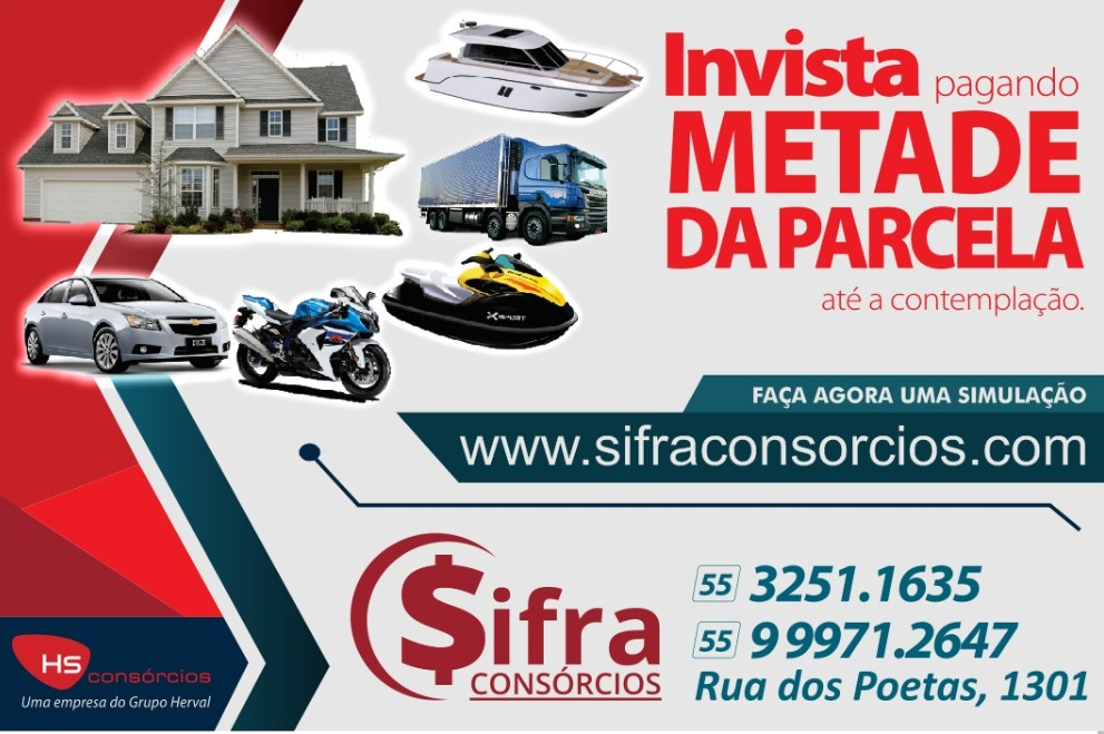 Sifra Consórcios em Santiago!