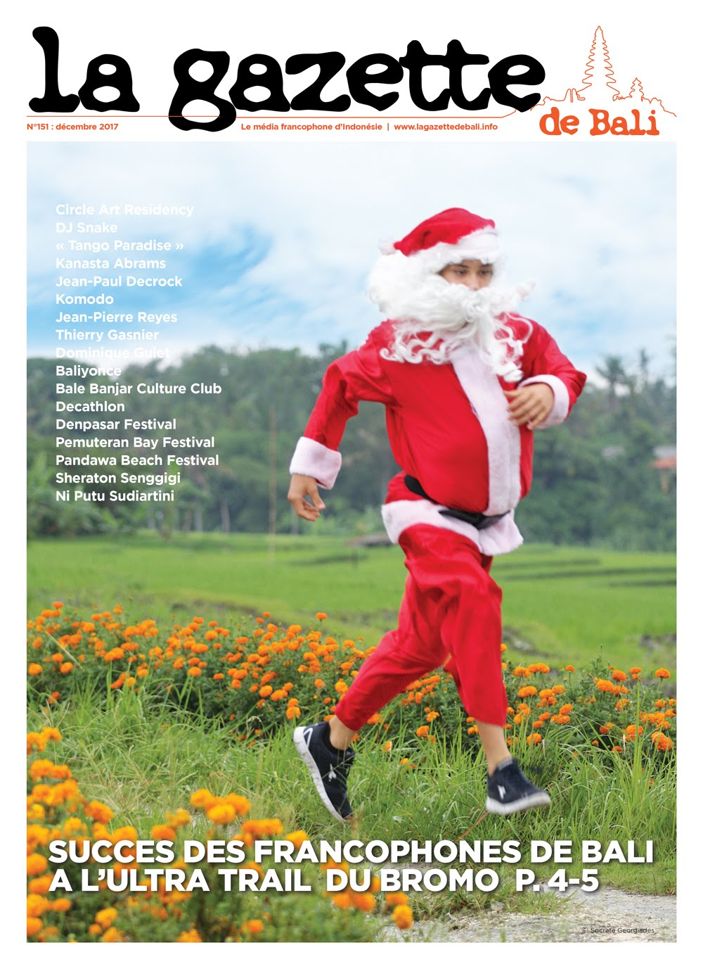 la Gazette de Bali décembre 2017
