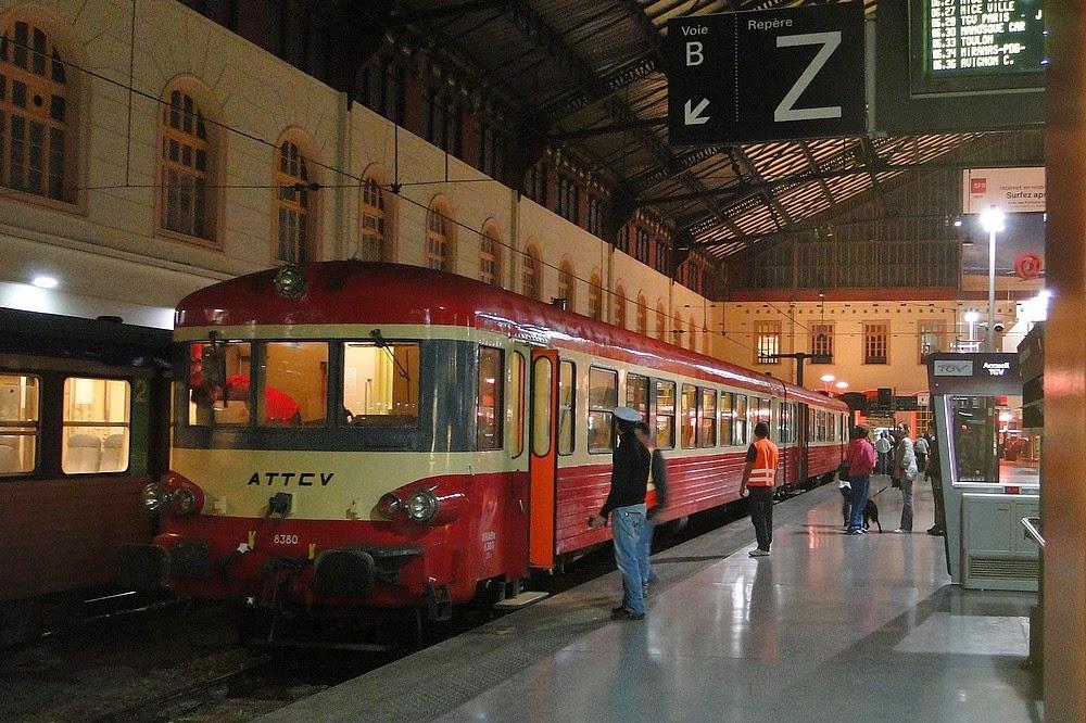 Tour de provence with caravelle x 4567 part 2 provence for Train marseille salon de provence