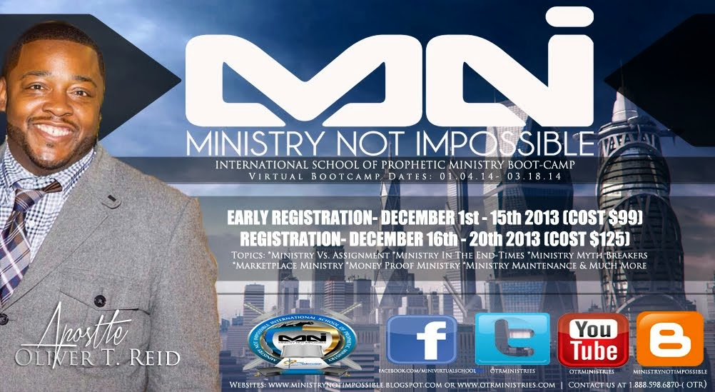 MINISTRY NOT IMPOSSIBLE