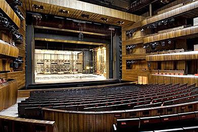 Interior de la Opera de Oslo
