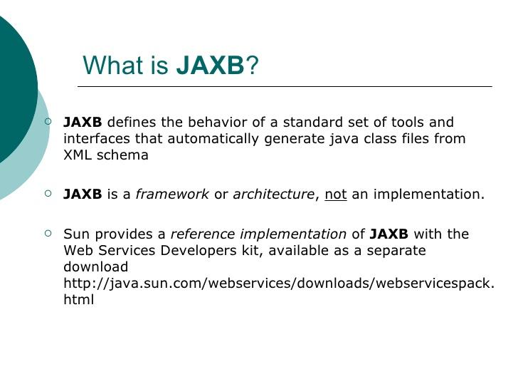 how to create objectfactory jaxb