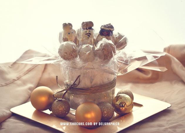 reyes magos cakepops - amigo invisible blogger 2013