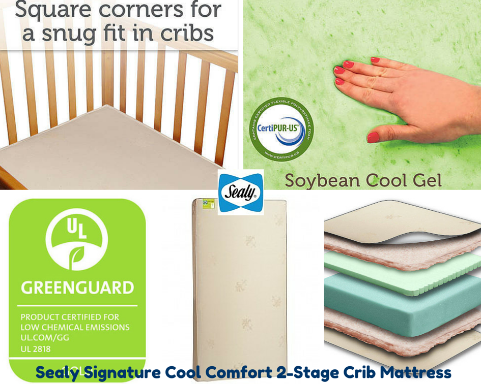 providing comfort for baby with the sealy cool comfort mattr