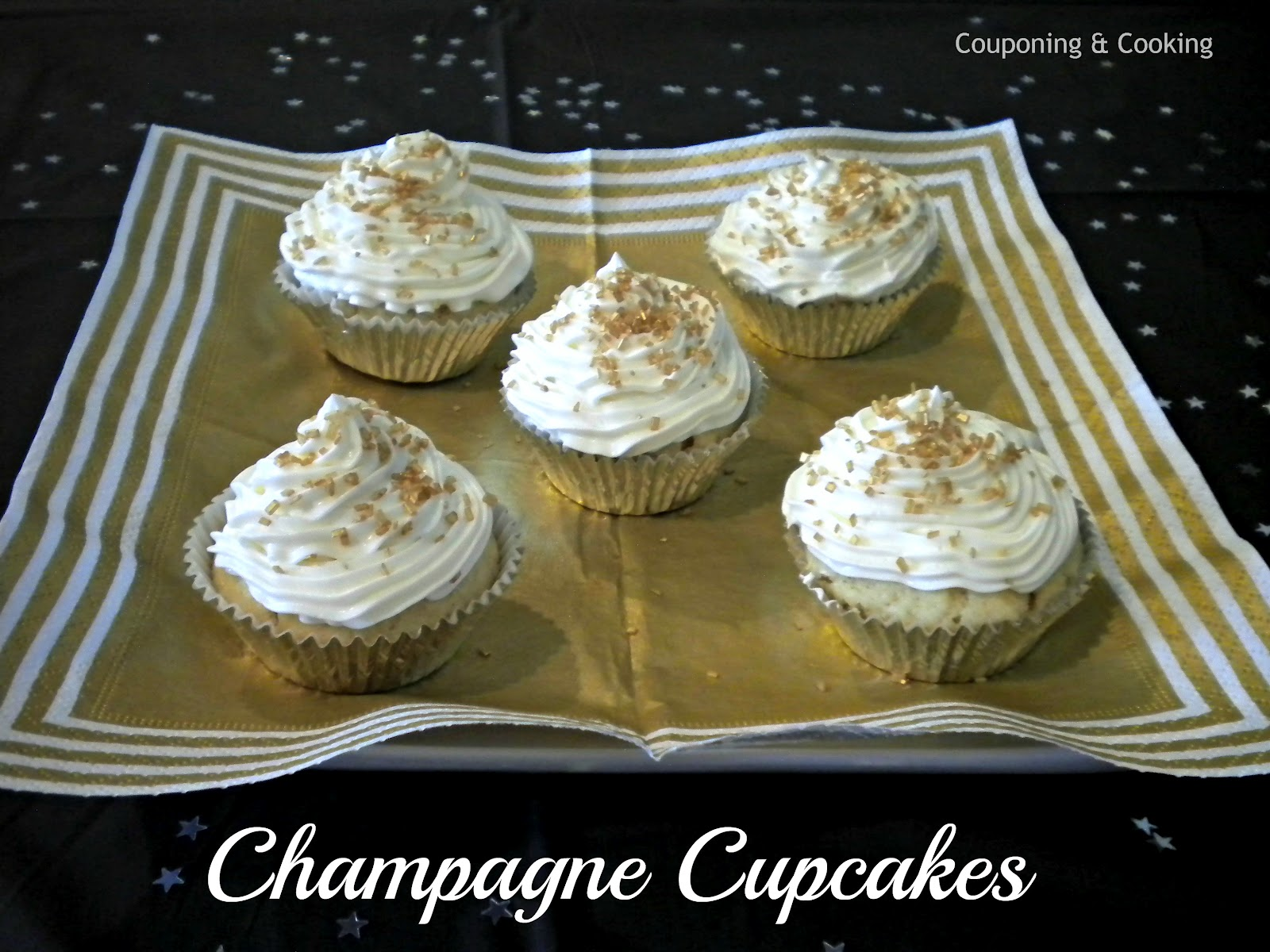 Champagne Cupcakes!