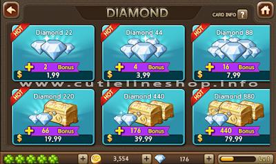 Beli Diamond Line Lets Get Rich Gratis