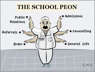 my school peon