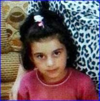Mariana Mirza, 6, is still being held by ISIS (AINA photo).