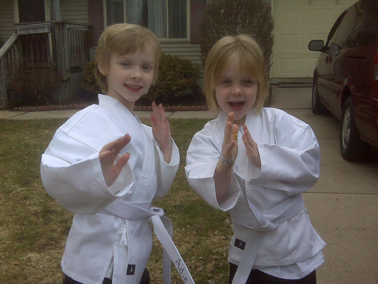 Karate Sisters - Adie and Kate