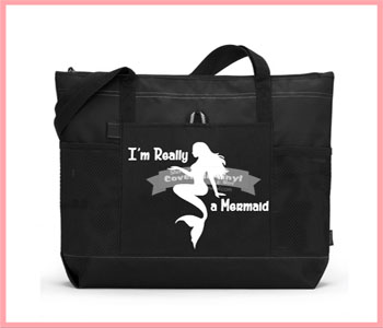 I'm Really a Mermaid Tote Bag