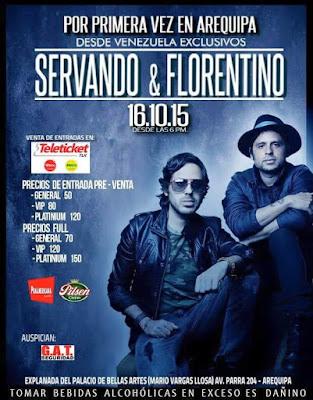 Servando y Florentino en Arequipa