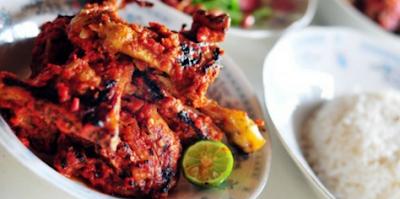 Resep cara membuat ayam bakar taliwang