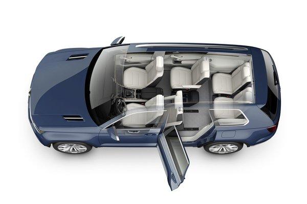 Семиместный внедорожник Volkswagen 2014