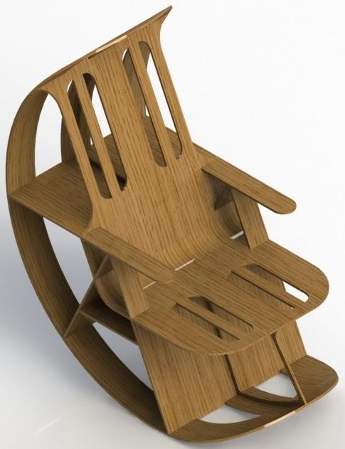 VB Mobilier Design: Rocking-chair : troisième concept