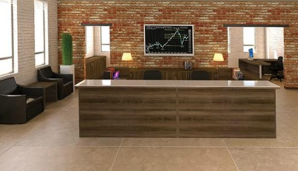 office furniture reception desks large receptionist desk. amber series multi user reception desk by cherryman office furniture desks large receptionist