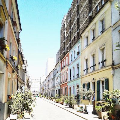 Rue Crémieux / Paris / Photos Atelier rue verte /