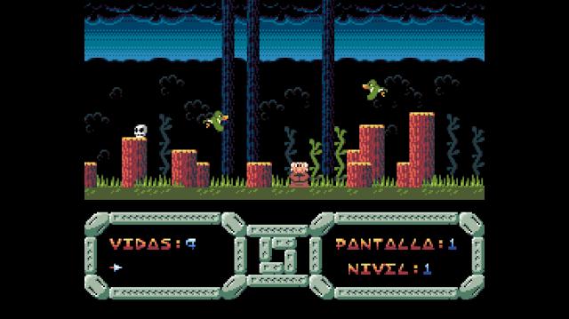 Primera versión completa de un nuevo remake del Temptations para MSX