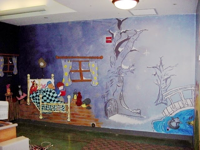 Unique wall paint design ideas for Creative wall ideas painting