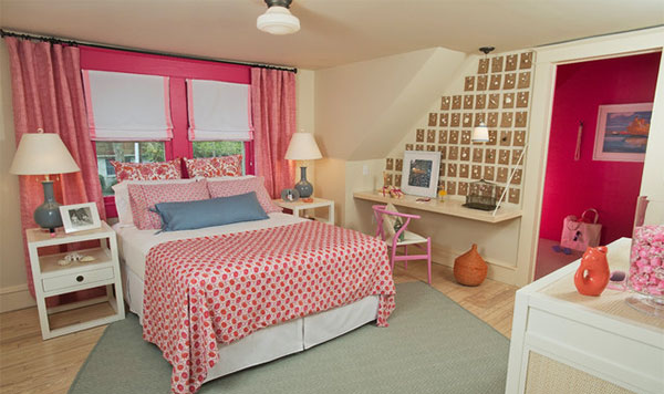 11 contoh desain kamar tidur warna pink design rumah