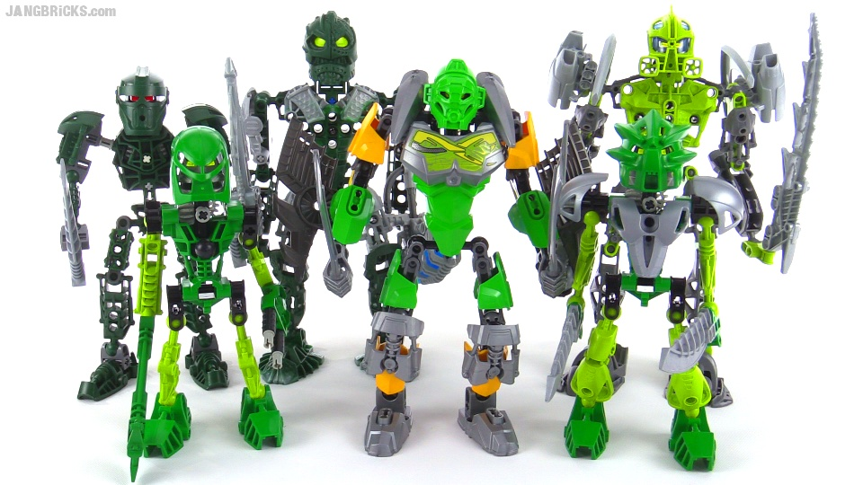 Lego Bionicle Old Vs New Compared